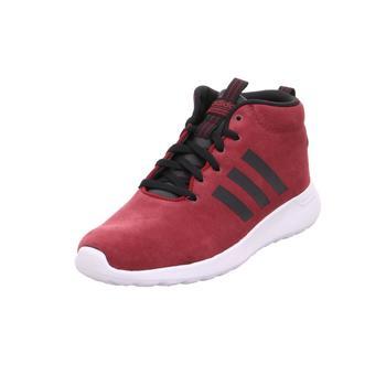 Schuhe Sneaker High adidas Originals CF LITE RACER MID CBURGU/CBLACK/CRYWHT000