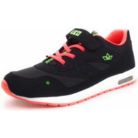 Schuhe Sneaker Low Lico COOL VS SCHWARZ/ORANGE/LEMON