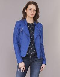 Kleidung Damen Lederjacken / Kunstlederjacken Only AVA Blau