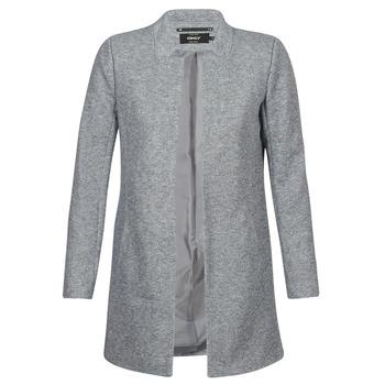 Kleidung Damen Mäntel Only SOHO Grau