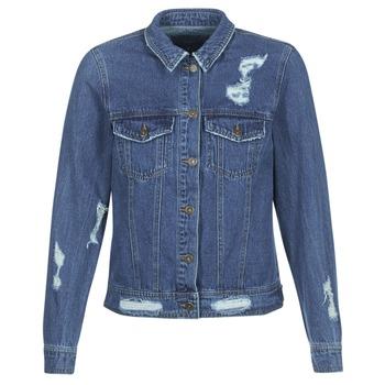 Kleidung Damen Jeansjacken Only BECKY Blau