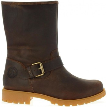 Schuhe Damen Klassische Stiefel Panama Jack SINGAPUR B11 Marr?n