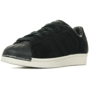 Schuhe Kinder Sneaker adidas Originals Superstar Core Black Schwarz