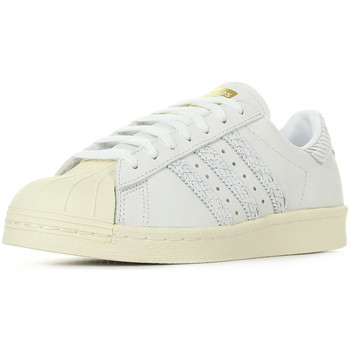 Schuhe Damen Sneaker adidas Originals Superstar 80S Cream Weiss