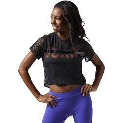 Kleidung Damen T-Shirts Reebok Sport Cardio Tee Schwarz