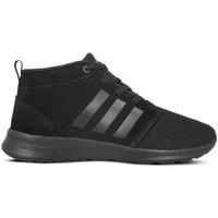Schuhe Damen Sneaker High adidas Originals CF Racer Mid Neo Schwarz