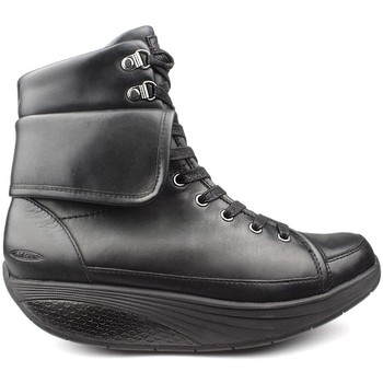 Schuhe Damen Low Boots Mbt EUZI FLIP W-TASTEN black