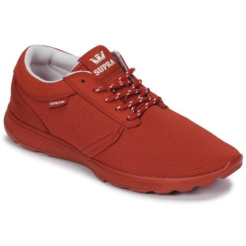 Supra HAMMER RUN Rot  Schuhe TurnschuheLow  69,99
