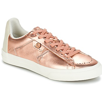 Schuhe Damen Sneaker Low Faguo SLOE03 Rose / Gold