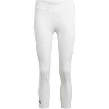 Kleidung Damen Leggings adidas Performance Alphaskin Tech 3/4-Tight Weiß