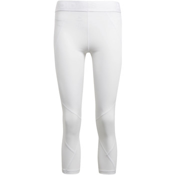 Kleidung Damen Leggings adidas Performance Alphaskin Sport 3/4 Tight Weiß