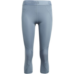 Kleidung Damen Leggings adidas Performance Alphaskin Sport 3/4 Tight grey