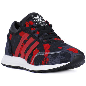 Schuhe Herren Sneaker Low adidas Originals LOS ANGELES J Nero