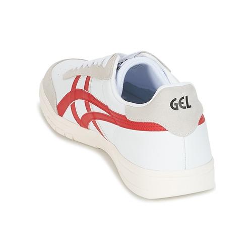 Asics GEL-VICKKA TRS Weiss / Rot Schuhe Sneaker Sneaker Schuhe Low 89,99 b7bf0a