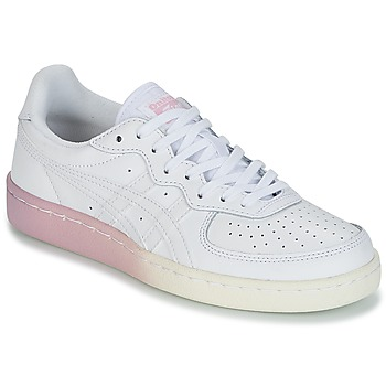 Schuhe Damen Sneaker Low Onitsuka Tiger GSM LEATHER Weiss / Rose