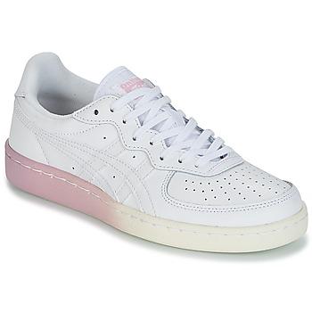 Schuhe Damen Sneaker Low Onitsuka Tiger GSM LEATHER Weiss / Rose