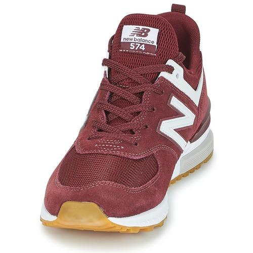 New Balance MS574 Bordeaux Schuhe Sneaker Low Herren 109