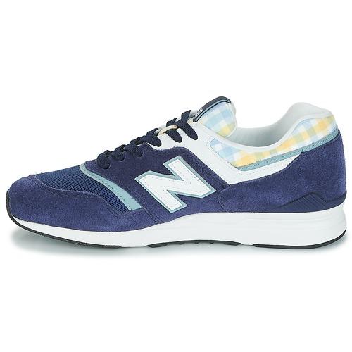 New Balance WL697 Blau Schuhe Sneaker Low Damen 109
