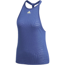 Kleidung Damen Tops adidas Performance Melbourne Burnout Tanktop blue