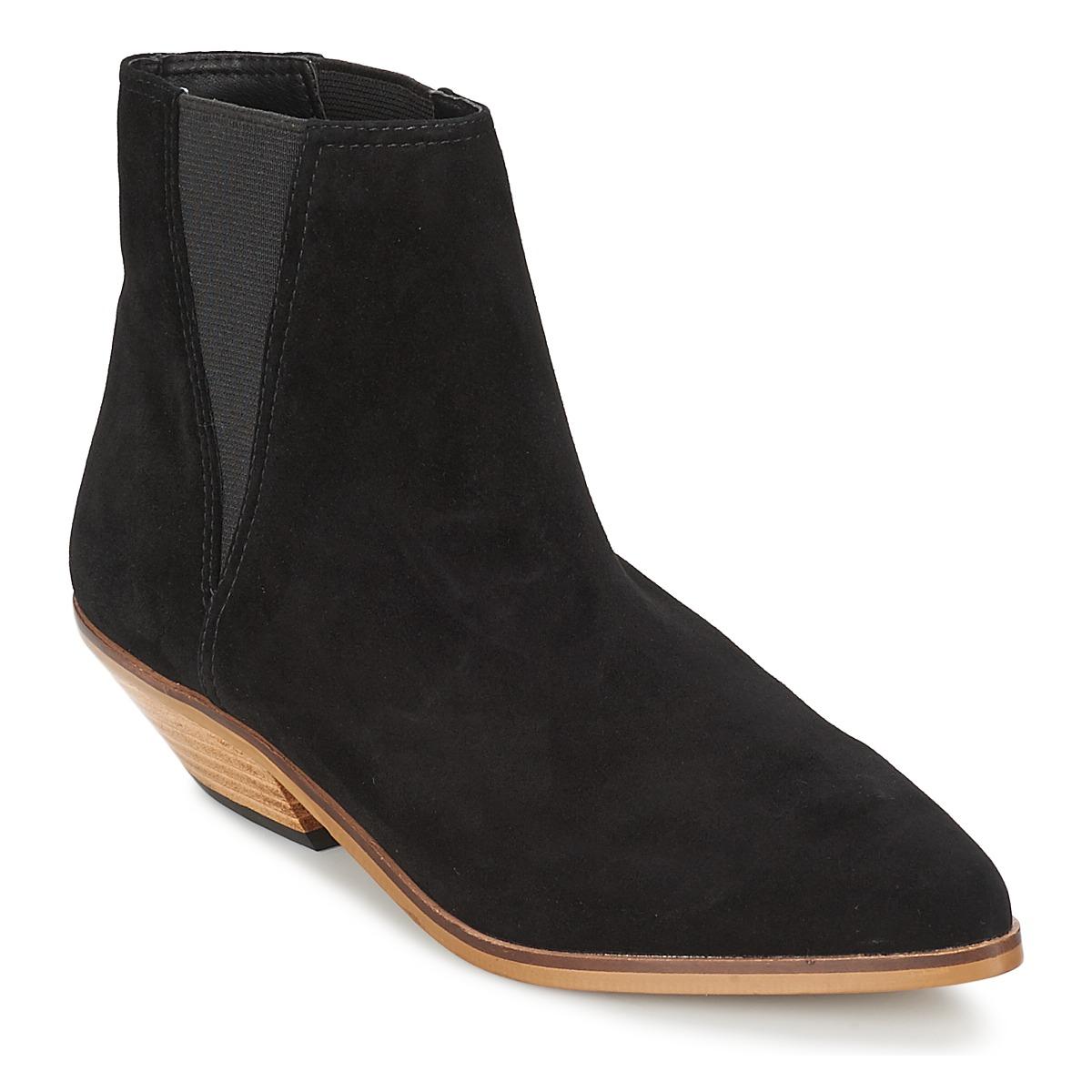 Shellys London CHAN Schwarz - Kostenloser Versand bei Spartoode ! - Schuhe Boots Damen 50,00 €