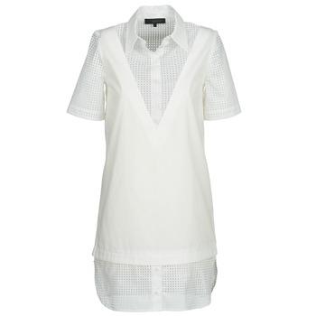 Kleidung Damen Kurze Kleider American Retro CHARLOTTE Weiss