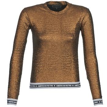 T-Shirts & Poloshirts American Retro ALLAN gold 350x350