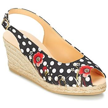 Schuhe Damen Sandalen / Sandaletten Desigual LALAINA Schwarz