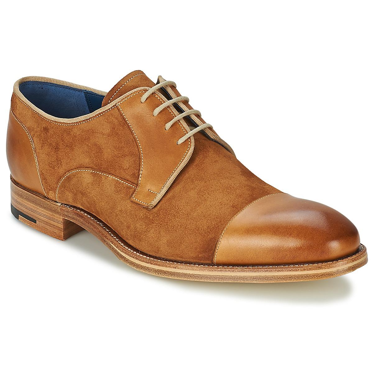 Barker BUTLER Braun - Kostenloser Versand bei Spartoode ! - Schuhe Derby-Schuhe Herren 207,00 €