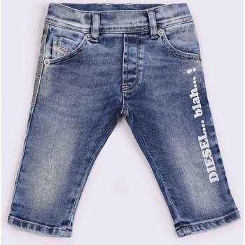 Kleidung Kinder Shorts / Bermudas Diesel KROOLEY 00K1IH JEANS Kinder DENIM LIGHT BLUE DENIM LIGHT BLUE