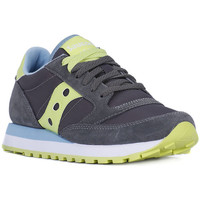 Schuhe Damen Sneaker Low Saucony JAZZ CHARCOAL GREEN Grigio