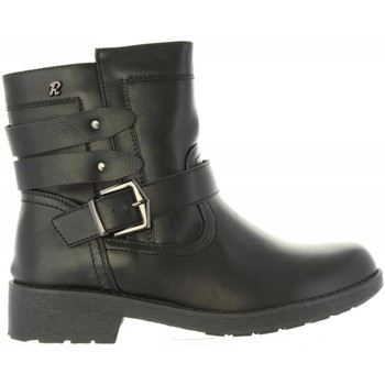 Schuhe Damen Low Boots Refresh 63831 Negro