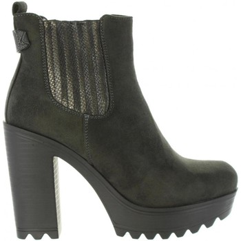Schuhe Damen Low Boots Refresh 63821 Gris