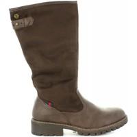 Schuhe Damen Klassische Stiefel Refresh 63872 Marr?n