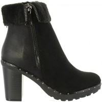 Schuhe Damen Low Boots Refresh 64014 Negro