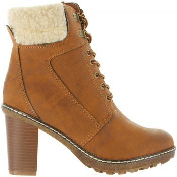 Schuhe Damen Low Boots Refresh 64020 Marr?n