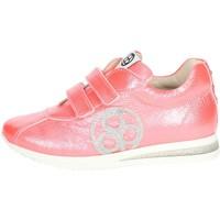 Schuhe Kinder Sneaker Low Florens E2330 Koralle