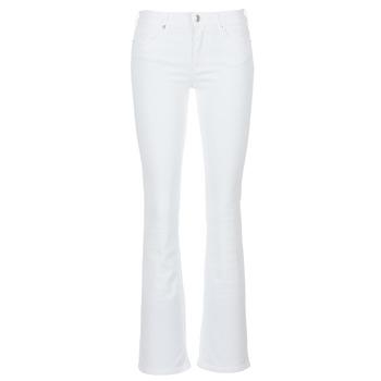 Kleidung Damen Bootcut Jeans Yurban IALOLAO Weiss
