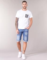 Kleidung Herren Shorts / Bermudas Yurban IXOLAK Blau