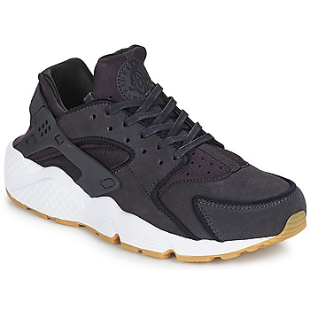 Schuhe Damen Sneaker Low Nike AIR HUARACHE RUN PREMIUM W Grau