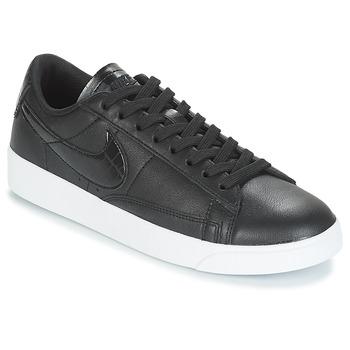 Schuhe Damen Sneaker Low Nike BLAZER LOW ESSENTIAL W Schwarz