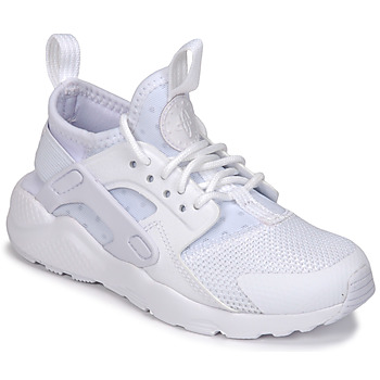 Schuhe Kinder Sneaker Low Nike HUARACHE RUN ULTRA PRE-SCHOOL Weiss