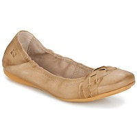 Schuhe Damen Ballerinas Dream in Green TAVERNI Beige