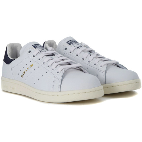 adidas Originals adidas Sneakers Originals Stan Smith in Leder Weiss und Blau Weiss