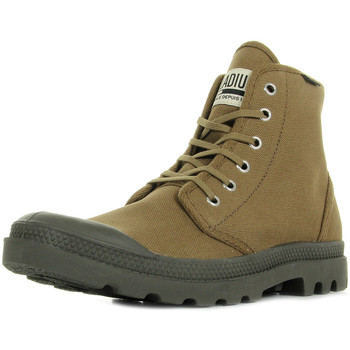 Schuhe Herren Sneaker High Palladium Pampa High Original Butternut Grün