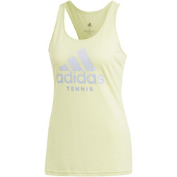 Kleidung Damen Tops adidas Performance Category Tanktop Gelb