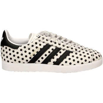 Schuhe Damen Sneaker Low adidas Originals GAZELLE W Weiss