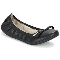 Schuhe Damen Ballerinas LPB Shoes ELLA Schwarz
