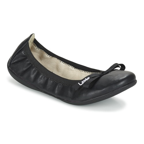 Schuhe Damen Ballerinas Les P'tites Bombes ELLA Schwarz