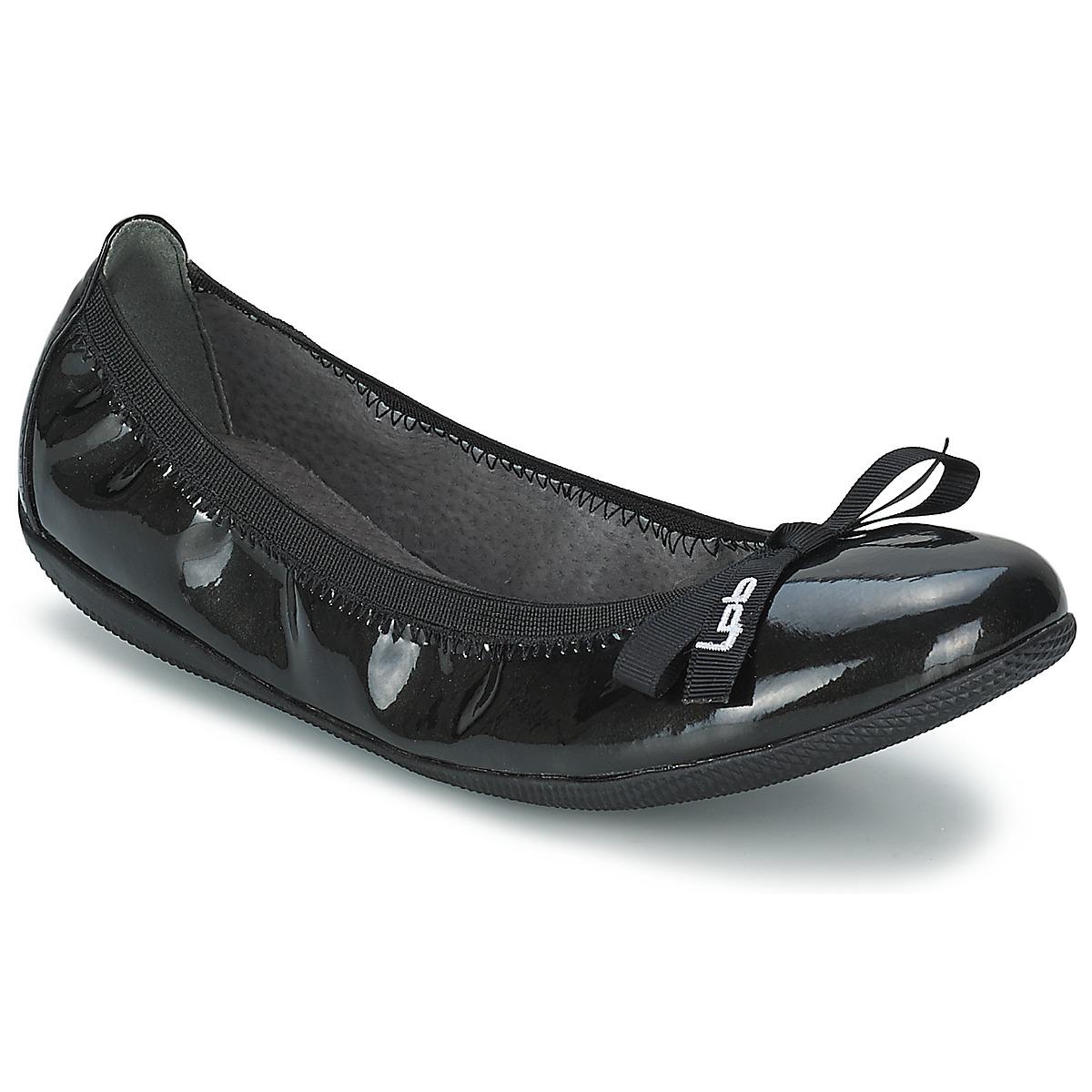 LPB Shoes ELLA VERNIS Schwarz - Kostenloser Versand bei Spartoode ! - Schuhe Ballerinas Damen 31,90 €