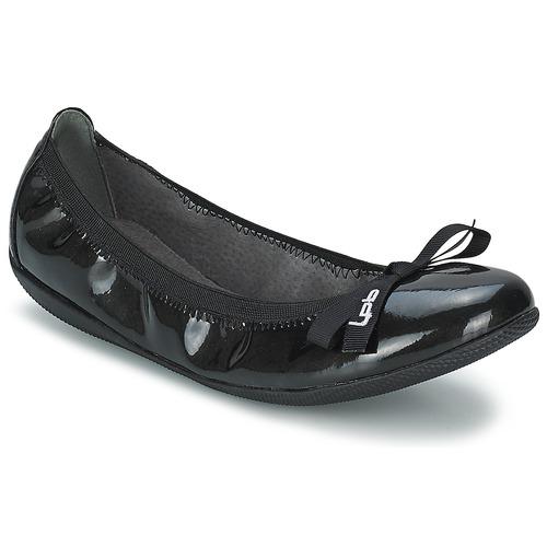 Schuhe Damen Ballerinas Les P'tites Bombes ELLA VERNIS Schwarz